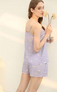 2020 hot Vero Moda New Arrivals Cat Print Sun-top Leisure Homewear пижамы комплект ночной комплект пижамы ночная одежда