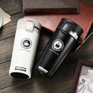 Hot Quality Double Wall Stainless Steel Vacuum 350ml 500mlFlasks Car Thermo Cup Coffee Tea Travel Mug Thermol Bottle