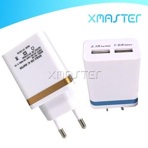 Металлическая двойная USB настенная зарядка 1A адаптер переменного тока US EU Plug зарядное устройство Plug 2 порта для iPhone Samsung Galaxy Note 10 xmaster