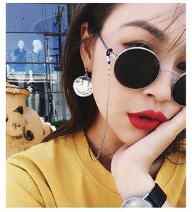 2020 Round frame sunglasses super chic women luxury designer sunglasses high quality black gold sunglasses-P(1941)