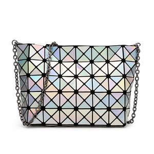 Dream2019 Senhora Bag Chain Laser Fold Geometry Package