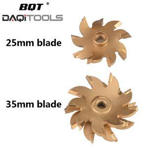 BQT eléctrica pared de ladrillo de hormigón máquina de corte de pared de la máquina de ranura cazador de la sierra portable muescas en la hoja de 25 mm de 35 mm