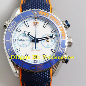 8 Style OM V3 Version Men's 600m Michael Phelps Limited Edition 45.5mm Planet Ocean Swiss CAL.9900 Movement Automatic Mens Watch Watches