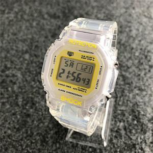 Новая мода спортивные часы Uniesx высококачественные светодиодные цифровые мужские и женские топ силиконовый ремешок часы многофункциональные водонепроницаемые. Мужской подарок