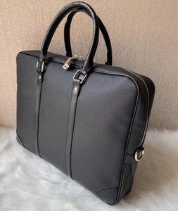 Рука трикотажной бренд дизайнер портфели новые деловые сумки прибытия высокого качества для мужчин натуральной кожи бизнес сумок для ноутбуков