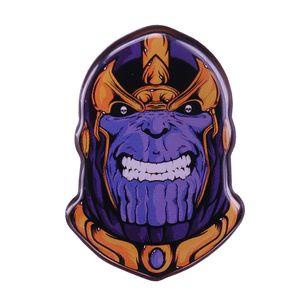 Avengers Thanos broche insignia poderosa personaje perfecto Marvel fanáticos de las películas decoración