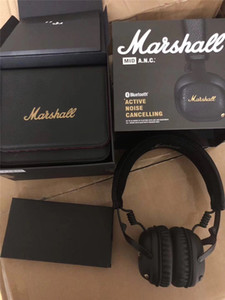 2019 Hight Quality Marshall Headphones of MAJOR I / II / III / MID / ANC / MONITOR / MODE / EQ Wired Wireless Bluetooth On Ear Headphones STOCKWEL Speaker