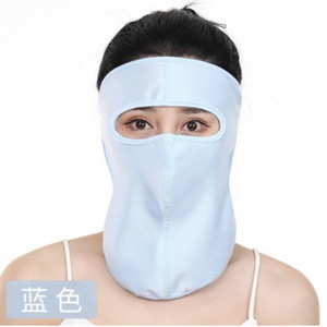 Anti Fluids Protection Face Masks Clear Cover Anti Anti-fog Fask Mask Women Sun Protection Soft Fabric Full Face mask