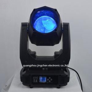 El más nuevo 80w Led Moving Head Beam Spot Wash Light 16/20 Canal 14 colores 12 patrones de gobos