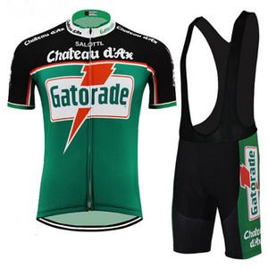 Chateau d'ax Gatorade para hombre Equipo Ropa Ciclismo Ropa de ciclismo / MTB Ropa de bicicleta / Ropa de bicicleta / 2019 ciclismo uniforme Ciclismo Jerseys A59