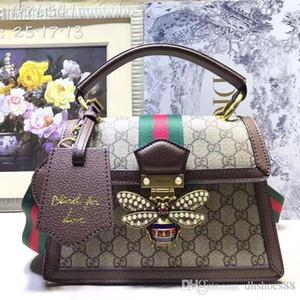 Hochwertige Mode Luxus Damen Schultertasche Leder-Kette Umhängetasche Volltonfarbe Dame portable messenger wallet