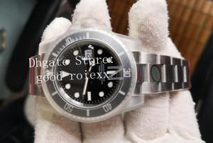 Top Men Version V10 904L Steel Montres automatique Cal.3135 Eta 3130 Montre N NoobF céramique Factory Hulk Dive 116610 Hommes 114060 Montres-bracelets