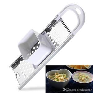 Lama Spaetzle Maker Uova Noodle Gnocco Maker Strumento Con Tramoggia Di Sicurezza Casa Creativa Pasta Cutter Strumento