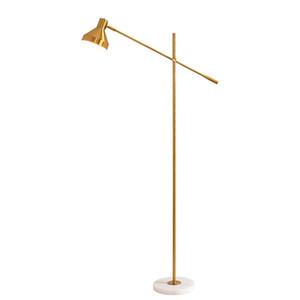 Современная минималистских личности регулируемого дизайнер творческого исследования дом спальня лампа вертикальный гостиная торшер e27 стенд