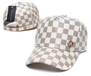Top ventes Nouveaux chapeaux de créateurs d'hommes de marque broderie casquettes de baseball populaire dame de luxe chapeaux de mode en cuir camionneur casquette femmes de cause à effet
