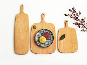 Planches à découper en bois Assiette de fruits Entiers en bois à couper en morceaux Hêtre Cuisson Outil de planche à pain Aucune déformation par fissuration