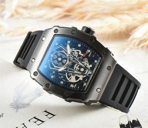 GO Top-Qualität Casual Fashion Hohl Uhren Männer Luxus Armee Schädel Sport Quarzuhr Silica Gel Strap Sport Quarz Uhren Großhandel