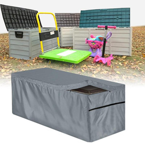 Outdoor Furniture Protective Cover Garden Deck Box Cabinet Cover Waterproof Durable Storage Bag Dust-proof UV Resistant