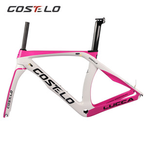 Costelo RB 1K The One Road Bicycle Carbon Fiber Rennrad Rennrad Gabelklemme Sattelstütze Carbon Road Fahrradrahmen Direkter Montierbremse