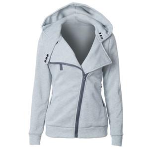 Dual Pocket Faux Fur Jacket Amazon Explosion Models Eleven Color Seven Code Zip Design Sweatshirt Female Autumn An