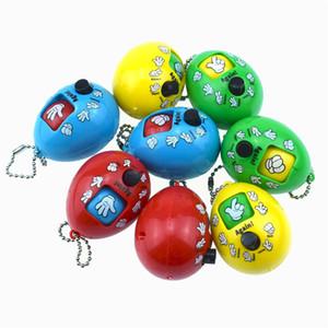 바위 종이 가위 게임 장난감 손가락 추측 게임 장난감 RPS 고전 캡슐 장난감 어린이 파티 선물