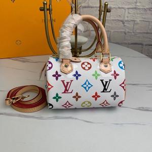 LOU1S VU1TTON m92645 SPEEDY leather women twist handbag messenger shoulder bag pockets Totes Shopping bags Backpack Key Wallets
