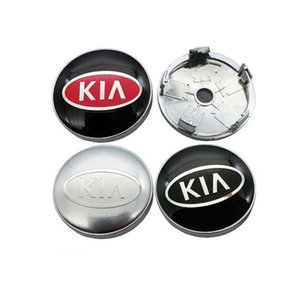 Car Styling Acessórios 4pcs 60 milímetros centro de roda Hub Caps carro emblema emblema do logotipo do tampão do centro de roda para Kia Rio CEED Sportage Sorento k2 k3 k4 K5