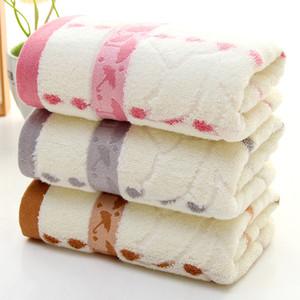 Coton serviette bambou fibre goutte de pluie petit parapluie doux cadeau serviette épaissir absorption d'eau visage serviette Home Textiles WX9-1285
