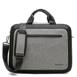 Sacchetto degli uomini impermeabile cartella del computer portatile Affari Tracolle Crossbody Big Messenger Bag borsa multifunzione Tote Bags XA181ZC