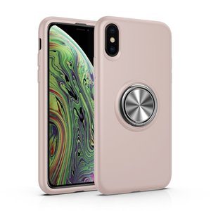 New Hot Wheels Liquid Silicone Magnetic Ring Phone Case For iphone 11Pro max xr x Samsung Note 10 Pro S10 Plus Huawei p30 pro