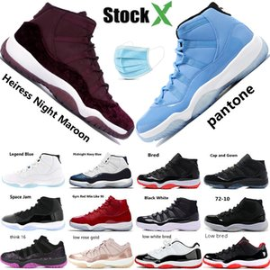 Nike air jordan air jordan 11 Concord 45 XI 11s Uomo Scarpe da basket Platinum Tint Gym Red Win Come 96 Scarpe da uomo di design Cap and Gown 11s Sneakers sportive