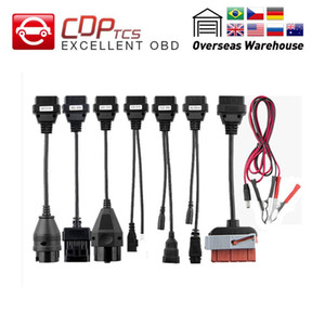 CDP TCS CDP pro conjunto completo de cabos carro cabos caminhão carro diagnóstico leads ferramenta OBD2 interface para TCS Pro Plus multidiag