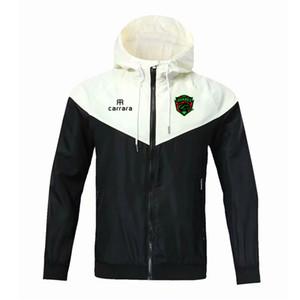 2020 FC Juarez футбол молния ветровка длинный рукав пальто куртки зимние виды спорта футбол ветровка балахон куртка Спортивная одежда Мужские куртки