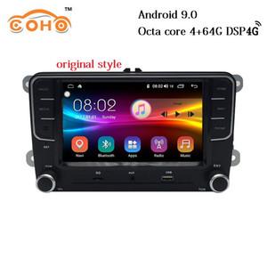 1DIN Android 9.0 Octa Çekirdek Orijinal Stil Multimedya CD Player Araba Radyo İçin Vw / Evrensel araba dvd
