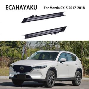 ECAHAYAKU 마쓰다 CX5 CX5 2,017 2,018 LED 낮 빛 DRL 동적 신호 램프 안개등 방수 12V 장식 우회전 러닝