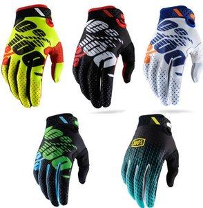 % 100 motosiklet eldiven off-road yarış eldivenleri erkekler ve kadınlar bisikleti MTB yokuş aşağı eldiven sürme