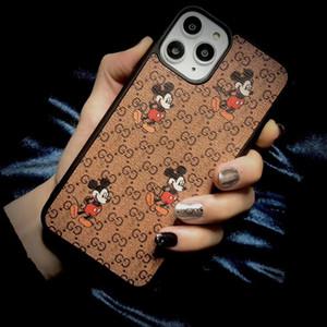 Mouse TPU Phone Case for iPhone 11 Pro max xs xr max x 8 7 6 6s più della copertura delle coperture del telefono di stampa marca di alta qualità 7plus 8plus 11promax