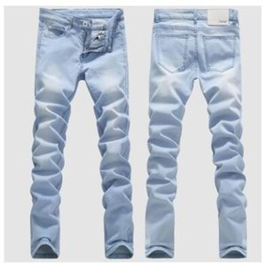 La fuente de comercio exterior 2018 pantalones vaqueros del estiramiento de la moda hombres, hombres, delgados pantalones, pantalones, pantalones vaqueros, pantalones vaqueros y bienes