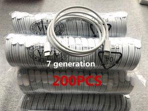 200pcs 7 générations de données de qualité d'origine OEM 1m / 3ft USB Sync télephone câble avec boîte de détail NOUVEAU