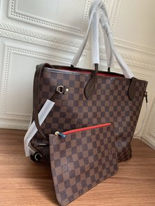 High Quality monogram Naverfull Never Totes Upgraded version Coated canvas single shoulder bag fashion Mother bags MM GM