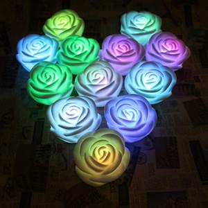 LED Rose Laterne Liebe Beleuchtung Rose Elektronische Rose Lampe Schlafzimmer Nacht Romantisches Licht Dekoration Valentinstag Hochzeit Festival-Dekoration