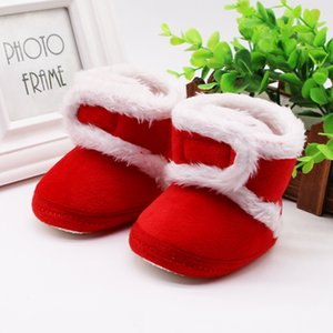 0-18M Baby Boy Girls Winter Warm Shoes Infant Kids Cotton Sweaters Boots Booty Crib Babe Toddler Shoes