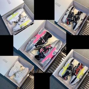 Nouvellement sorti de haute qualité Maison Margiela Fusion chaussures de papa couple de taille ancienne de maille en cuir 35-44