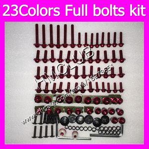 Fairing screws Full bolts kit For Triumph Daytona 600 03 04 05 Daytona600 Daytona 650 2003 2004 2005 MC171 OEM Body Nuts bolt screw Nut kit