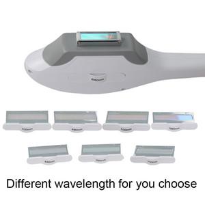 Top Quality ipl elight handpiece 7 filtres différentes longueurs d'onde 430nm 480nm 530nm 560nm 640nm 690nm 750nm