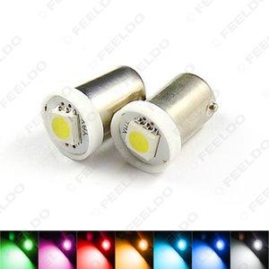 50pcs DC12V автомобиля BA9S T4W 1895 5050 1SMD 1LED светодиодные лампы автомобилей лампочки Reading Light 7-Color SKU #: 4808