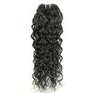 "Angelawigs Brazilian Virgin Human Hair Weave Bundles Double Weft Water Wave Weave Bundles Hair Extensions Peruvian Remy Hair 8""-34"" Instock"