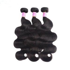 North Korea human hair extensions body wave braiding hair 9a grade unprocessed virgin hair 4 bundles 400g lot natural color