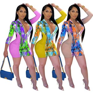 Womens overalls jumpsuits rompers sexy zipper mesh panelled playsuit one piece shorts jumpsuit women clothes print legging klw4369
