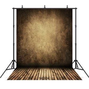 vintage grunge black board floor Vinyl portrait photography background for portrait children baby shower backdrop photocall photo studio